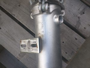 "1"" Graco Stainless Steel Simplex Strainers w/NPT Connections"