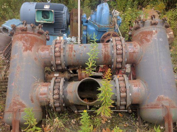 """10"""" Carbon Steel Duplex Strainer"""