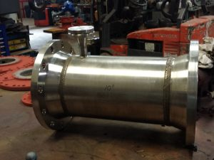"10"" Koflo Stainless Steel Turbine Meter"