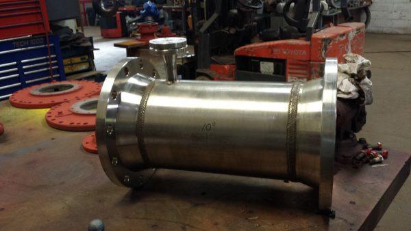 "10"" Koflo Stainless Steel Turbine Meter"