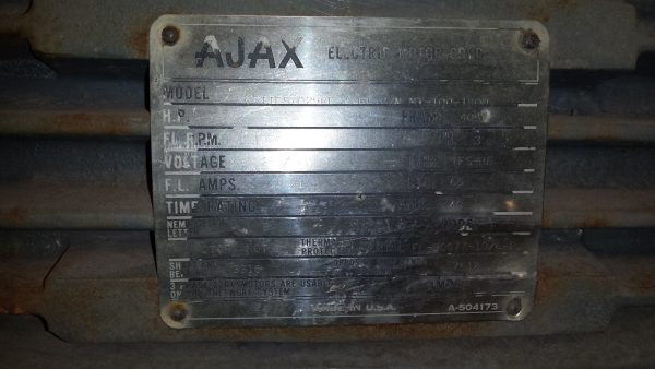 100 HP Ajax Motor Explosion Proof! MAKE OFFER!!!