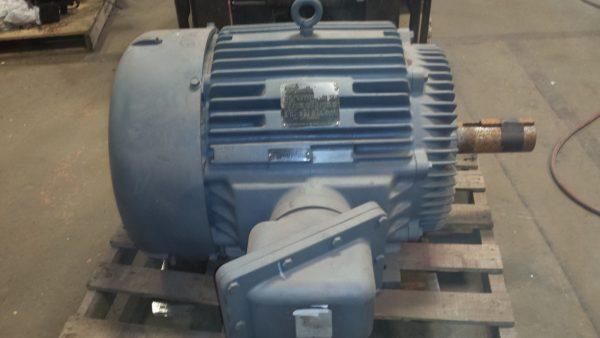 125 HP Marathon Electric Motor 60Hz/50Hz, 1780RPM/1480RPM, 460V EXPLOSION PROOF