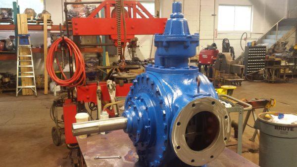 "Blackmer HXL8 8"" Positive Displacement Vane Pump"