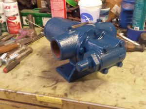 "1 1/2"" Viking HL195 steel pump"