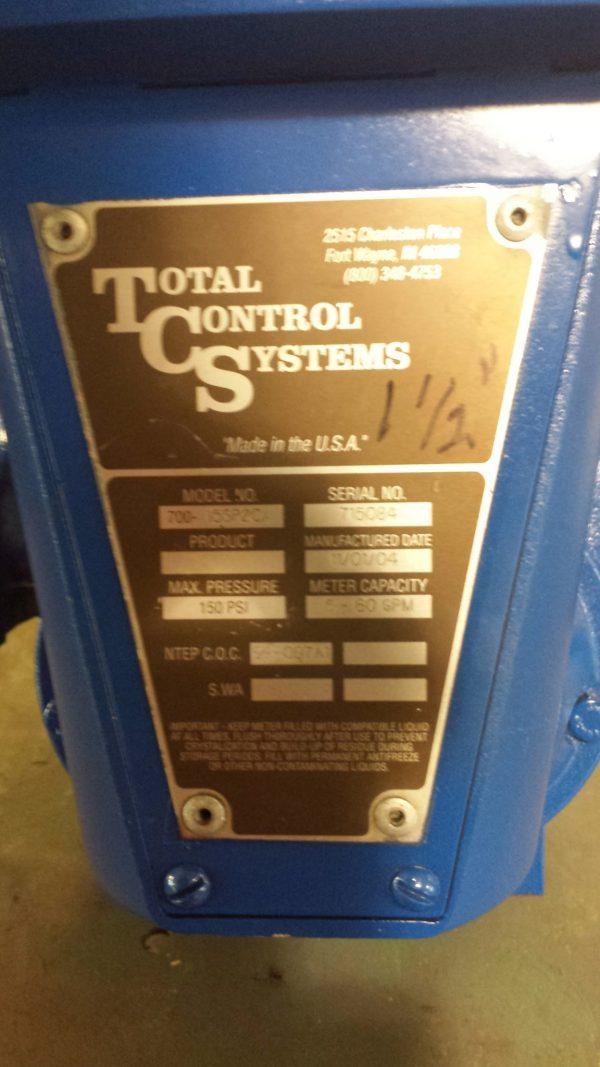 """1 1/2"""" Total Control meter"""