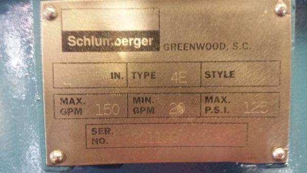 """2"""" Neptune/Schlumberger Type 4E meter"""