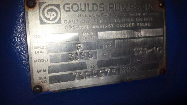 2X3X10 Gould's 3196 steel