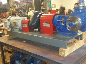 "2 1/2"" Viking LQ4127A Stainless steel pumping skid"