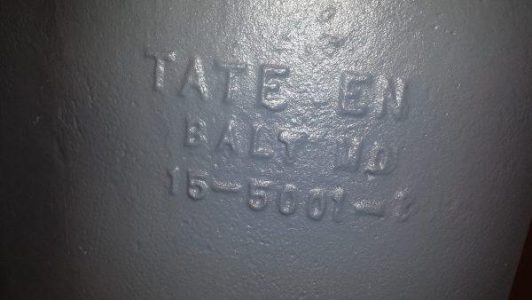 """5"""" Tate Duplex steel strainer"""