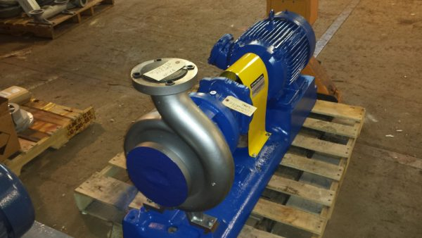 """4X3 Gould's Stainless Steel pump 10"""" impeller and 15HP exp. motor"""