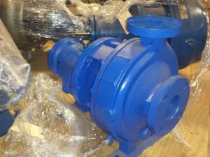 3X2X10 Gould's 3196 steel pump