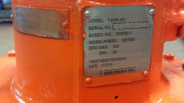 """3"""" Smith T-20 R 3DI Meter"""