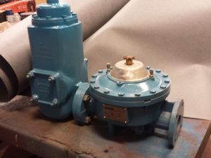 "2"" Schlumberger Type 4E Meter with air eliminator and strainer"