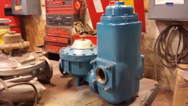 """2"""" Schlumberger Type 4E Meter with air eliminator and strainer"""