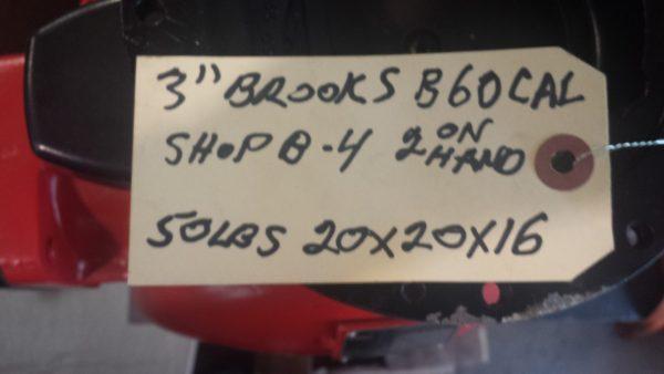 """3"""" Brooks B-60CAL meter"""
