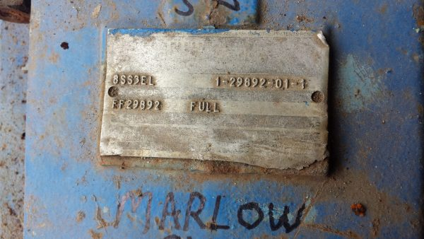 8X10 Stainless steel 8SS3EL Marlow Used, Turns good