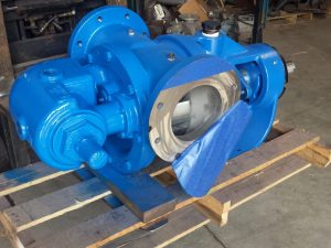 "6"" Viking QS224A jacketed relief and shaft side"