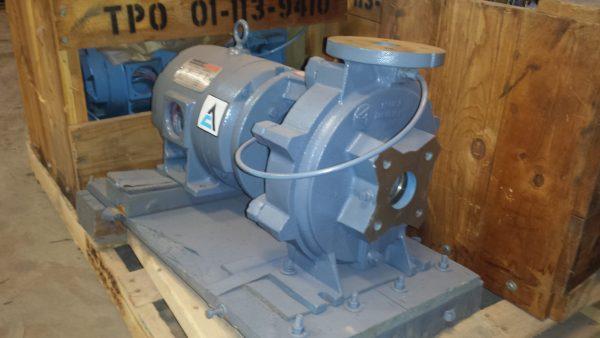 """2X1 1/2X9"""" ITT A-C Pump with 3HP motor"""