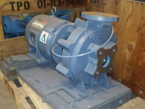"2X1 1/2X9"" ITT A-C Pump with 3HP motor"