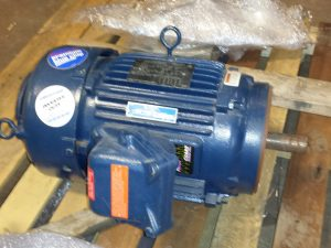 7 1/2 HP Marathon C-Face motor brand new 230/460 volt