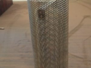 "3"" Strainer basket for Blackmer strainer 1/16"" mesh"