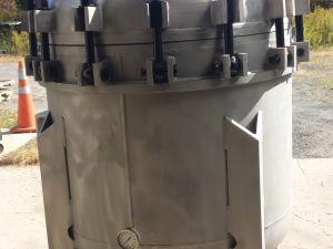 "4"" 12 Bag Rosedale stainless steel bag filter"