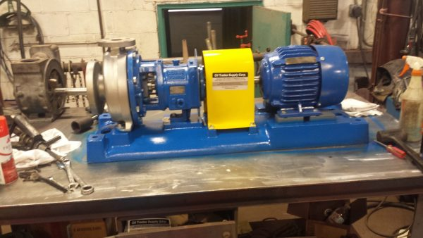 "1 1/2"" X 3"" X 8"" Stainless steel Gould's 3196 with 3HP exp. motor"