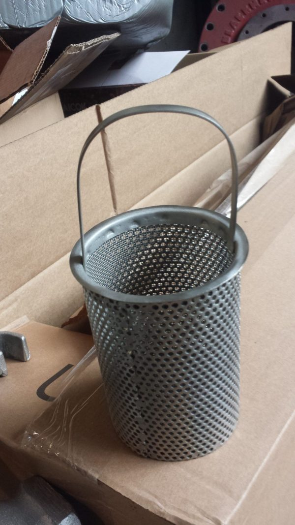 "2"" Hayward strainer, easy open stainless steel"