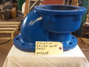 "6"" Blackmer HXL6F-N relief valve body"