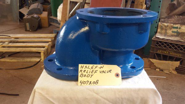 """6"""" Blackmer HXL6F-N relief valve body"""