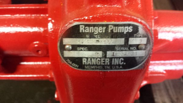 "2"" Roper 3611HB type 3 with 8HP Honda 240 GX gasoline engine"