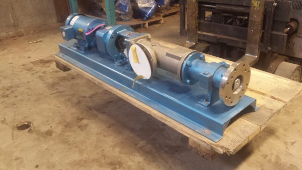 "4"" Moyno Progressing cavity pump, Stainless steel, new/surplus"