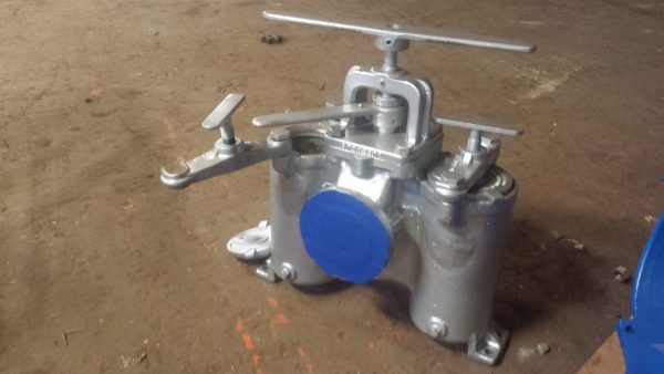 "2"" Hayward stainless steel duplex strainer"