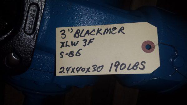 "3"" Blackmer XLW3F rebuilt"
