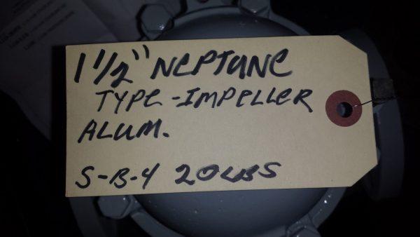 """1 1/2"""" Neptune impeller meter"""