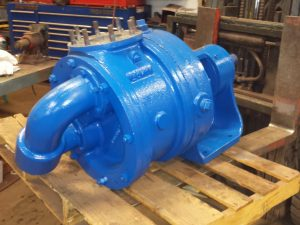 "4"" Viking MR124 Jacket on shaft side,high temp seals and packing"