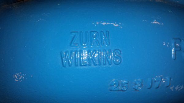 "4"" Zurn Wilkins steel Y strainer, NEW"