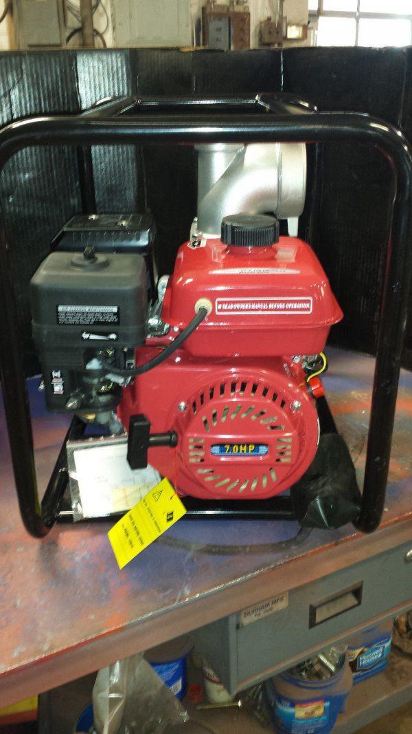 "4"" CMT gas powered water pump Model 100-25"
