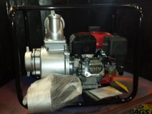 "4"" CMT gas powered water pump Model 100-25"