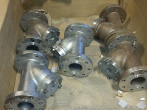 "4"" Stainless Steel Y-Strainers with 300lb Flanges"