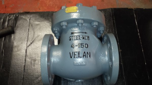 "4"" Velan Carbon Steel Check Valve"