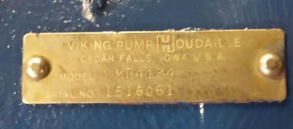 """4"""" Viking MR4124 Pump with Relief Valve"""