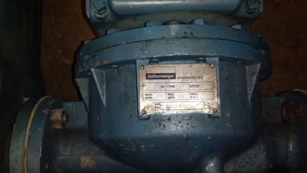 "Aluminum 2"" Schlumberger Meter"