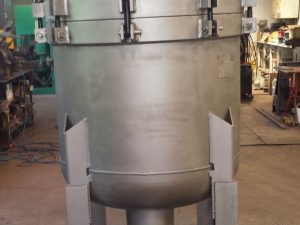 "FSI 8"" Stainless Steel 10-Bag FIlter up to 2,000GPM (Model: FSPN-2500-304SS)"
