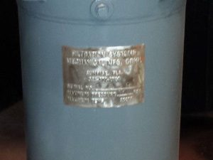 "Filtration Systems Mechanical 2"" Single Bag Filter, Stainless Steel, High Temp"