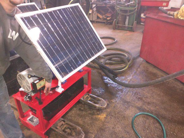 FlowDaddy 60 Solar Powered Off-Grid Pumping System w/Goulds Pump