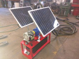 FlowDaddy 60 Solar Powered Off-Grid Pumping System w/Goulds Pump