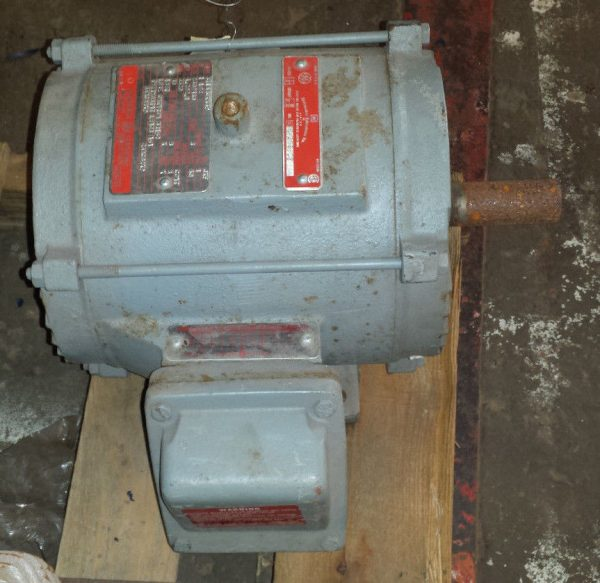 General Electric INDUCTION MOTOR 1.5HP 3450RPM