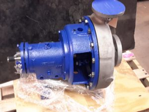 "Goulds 2x3x13 Centrifugal Stainless Steel Pump with 11"" Impeller"