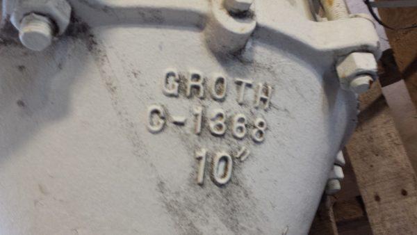 """Groth 10"""" Flame Arrestor"""